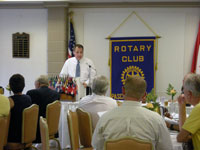 Chris at Kennewick Rotary